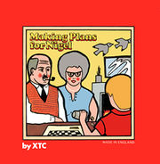 Original UK 45 rpm single picture cover: XTC - Making Plans For Nigel