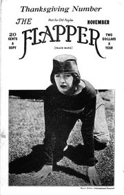 "Flapper Magazine's by-line, ""Not for old fogies"" was a sign of the Roaring Twenties"